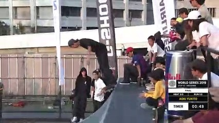 Aoki Yukito | 3rd place - Skateboard Street Final | FISE Hiroshima 2019