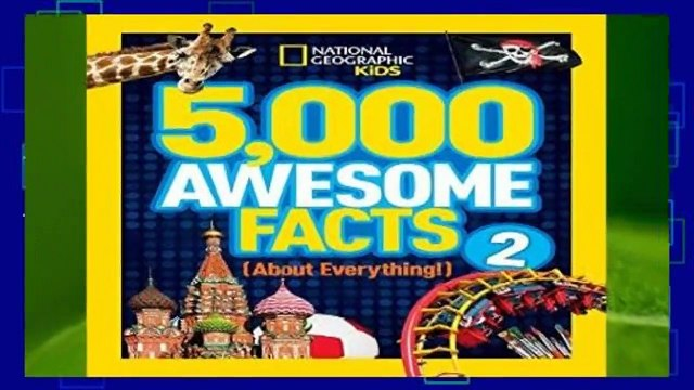 [NEW RELEASES]  5,000 Awesome Facts (About Everything!) 2 (5,000 Awesome Facts ) by National