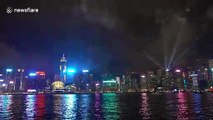 "Hong Kong's spectacular ""Symphony of Lights"""