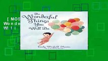 [MOST WISHED]  The Wonderful Things You Will Be by Emily Martin