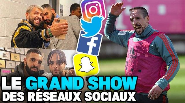 La malédiction de Drake inquiète la planète foot, Franck Ribéry inarrêtable : le Grand Show des Réseaux Sociaux