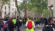 Gilets jaunes à Marseille :  la situation s'est tendue entre les gilets jaunes et la police