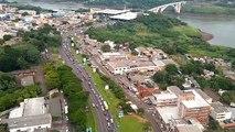PRF registra aumento do fluxo de veículos na região da Ponte da Amizade