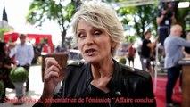 Vaucluse : Sophie Davant en tournage à la foire internationale des antiquaires de L'Isle-sur-la-Sorgue