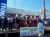 La remise du bouclier de champion réserve régional à La Motte-Servolex