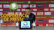 Conférence de presse Gazélec FC Ajaccio - FC Metz (0-2) : Hervé DELLA MAGGIORE (GFCA) - Frédéric  ANTONETTI (FCM) - 2018/2019