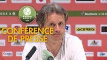 Conférence de presse Valenciennes FC - AS Béziers (5-6) : Réginald RAY (VAFC) - Mathieu CHABERT (ASB) - 2018/2019