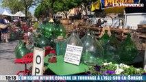 """L'émission """"Affaire Conclue"""" diffusée sur France 2 en tournage à la foire de l'Isle-sur-la-Sorgue"""