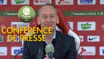 Conférence de presse Stade Brestois 29 - US Orléans (3-1) : Jean-Marc FURLAN (BREST) - Didier OLLE-NICOLLE (USO) - 2018/2019