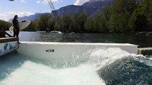 Découverte de la vague artificielle de Tencin (Isère) - Partie 1