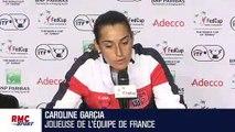 """Fed Cup : """"Cela a toujours été une compétition qui me tient à cœur"""" souligne Garcia"""