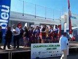 Rugby - Finales AuRA à Bourgoin : remise du bouclier au RC Motterain B (champion de réserves régional)