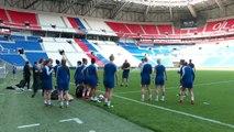 Chelsea look ahead to their UCL women's semi-final 1st leg against Lyon