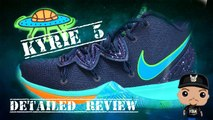 Nike Kyrie Irving 5 UFO Sneaker Detailed Look Review