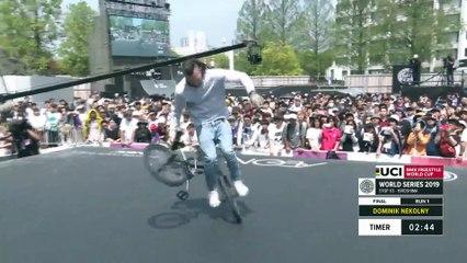 Dominik Nekolny | 3rd place - UCI BMX Flatland World Cup Final | FISE Hiroshima 2019