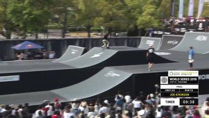 Joe Atkinson | 1st place - WS Roller Freestyle World Cup Final | FISE Hiroshima 2019