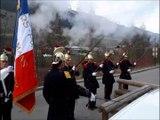 Val-Cenis : les pompiers de Bramans rendent hommage aux moniteurs de ski