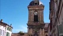 Les cloches de l'église Notre-Dame de Bar-le-Duc sonnent avant l'office de la Résurrection