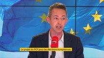 """Ian Brossat, tête de liste PCF pour les élections européennes : """"Aujourd'hui, l'Union européenne traverse une crise existentielle comme elle n'en a jamais connue"""""""