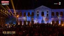 Notre-Dame : Mireille Mathieu en larmes pendant le grand concert (vidéo)