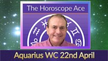 Aquarius Weekly Horoscope from 22nd April - 29th April