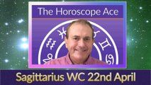 Sagittarius Weekly Horoscope from 22nd April - 29th April