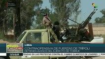 Libia: contraofensiva de fuerzas de Trípoli detienen avance Tobruk