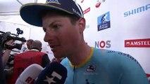 Jakob Fuglsang - Post-race interview - Amstel Gold Race 2019