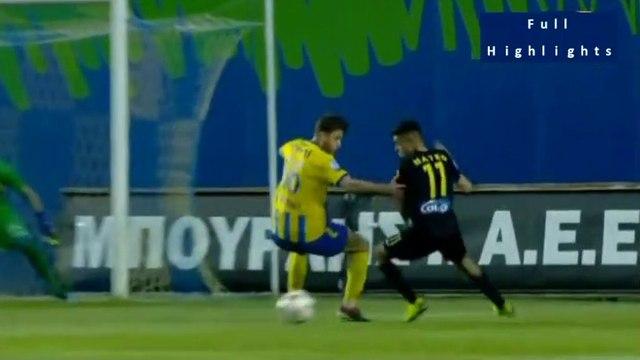Aris requests a penalty (66')- Panetolikos 1 - 1 Aris 21.04.2019