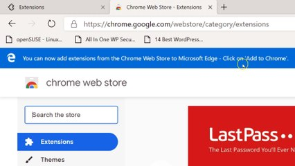 How to Install Chrome Extensions on Microsoft Edge Chromium on