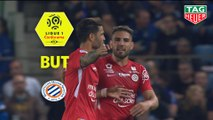 But Andy DELORT (86ème) / RC Strasbourg Alsace - Montpellier Hérault SC - (1-3) - (RCSA-MHSC) / 2018-19