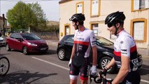 Chalon-sur-Saône : Romain Bacon apprend sa victoire sur le Tour de Saône-et-Loire