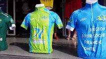 Chalon-sur-Saône : remise du maillot de vainqueur du Tour de Saône-et-Loire à Romain Bacon