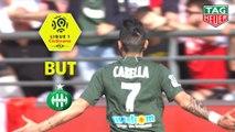 But Rémy CABELLA (25ème) / Stade de Reims - AS Saint-Etienne - (0-2) - (REIMS-ASSE) / 2018-19