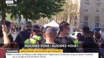 """Gilets Jaunes : des """"suicidez-vous"""" criés aux policiers - ZAPPING ACTU DU 22/04/2019"""