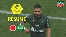 Stade de Reims - AS Saint-Etienne (0-2)  - Résumé - (REIMS-ASSE) / 2018-19