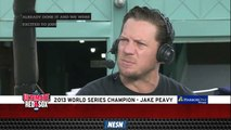 Jake Peavy Reminisces Red Sox's 2013 World Series, Championship Parade