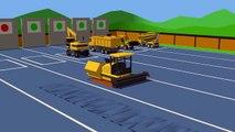 Exposition de Machines de Construction | #Excavatrice, Camion, Rouleau compresseur, bétonnière pour les enfants. Maszyny