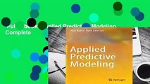 Full E-book  Applied Predictive Modeling Complete