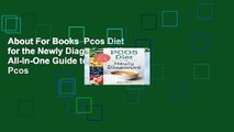 About For Books  Pcos Diet for the Newly Diagnosed: Your All-In-One Guide to Eliminating Pcos