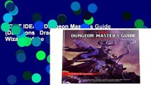 [GIFT IDEAS] Dungeon Master s Guide (Dungeons   Dragons Core Rulebooks) by Wizards of the Coast