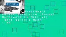 Windows PowerShell Pocket Reference (Pocket Reference (O Reilly))  Best Sellers Rank : #2