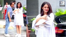 Surveen Chawla Takes Newborn Daughter Eva Home WATCH VIDEO