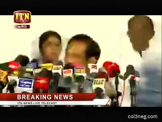 Media Conference at Temple Trees 22-04-2019 Part 1