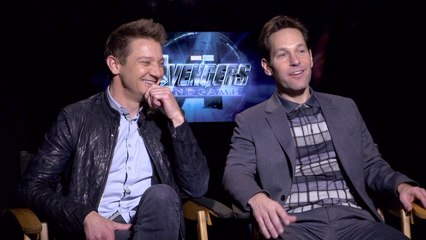 Jeremy Renner and Paul Rudd Talk All About 'Avengers: Endgame'