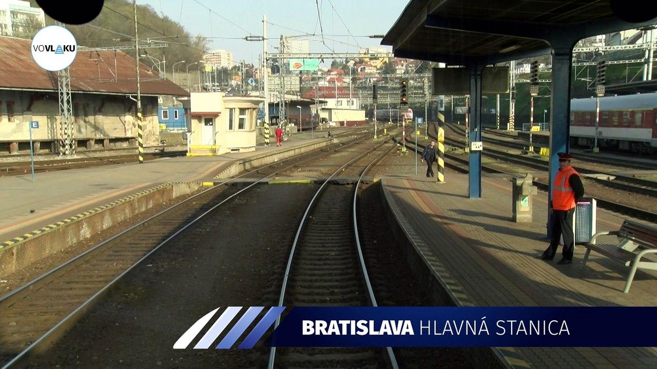 UNIKÁTNY VLAKOVÝ VIDEOPROJEKT: Z Bratislavy do rakúskeho Marcheggu