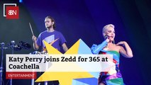 Katy Perry Teamed Up With Zedd During Coachella Festival