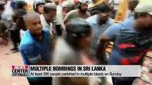 Death toll climbs to 290 in Sunday's mutliple blasts in Sri Lanka
