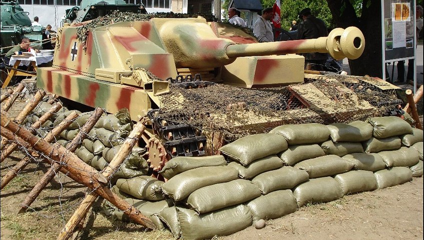 Blindes-54-Sturmgeschütz IV & Sturmpanzer IV