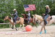 Jallerange : en attendant la compétition équestre western